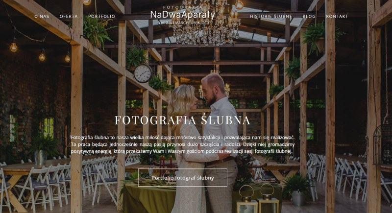 Tworzenie strony internetowej fotografia
